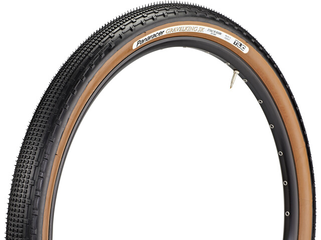 "Panaracer GravelKing SK Folding Tyre 27.5x2.10"" TLC black/brown"